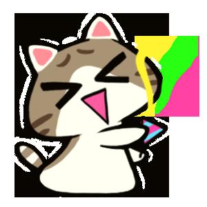 Maze Cat - Rookie messages sticker-1