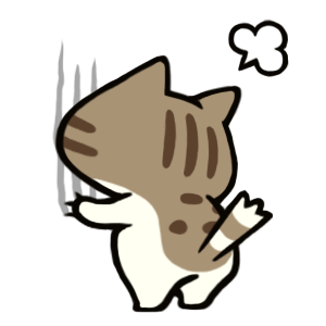 Maze Cat - Rookie messages sticker-4