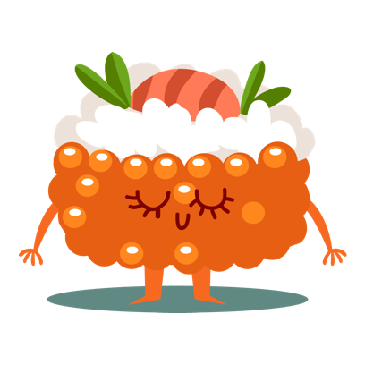 Sushi and Chinese Food Emojis messages sticker-6