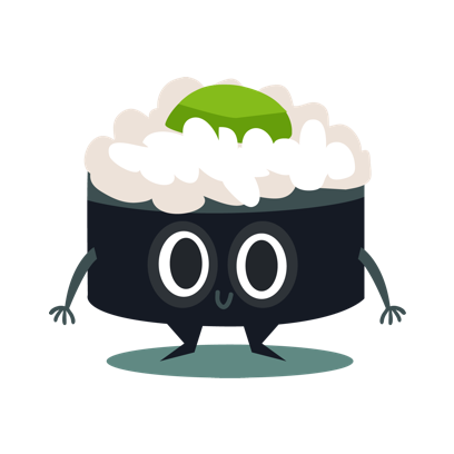 Sushi and Chinese Food Emojis messages sticker-11