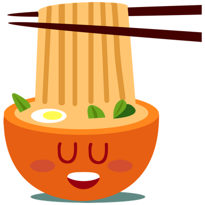 Sushi and Chinese Food Emojis messages sticker-2