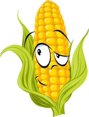 Corn SP emoji stickers messages sticker-7