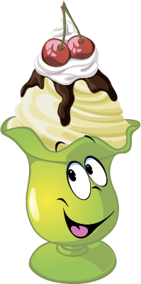 Ice cream SP emoji stickers messages sticker-9