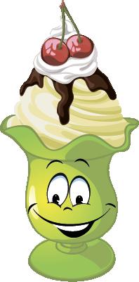 Ice cream SP emoji stickers messages sticker-8