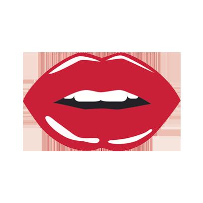 Beautiful Lips Sticker Pack messages sticker-6