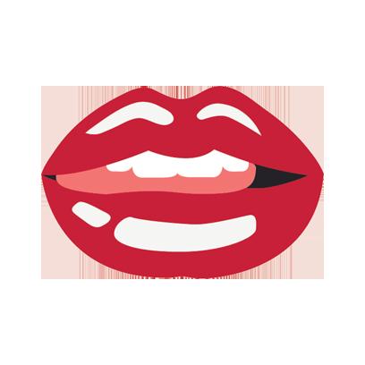 Beautiful Lips Sticker Pack messages sticker-11
