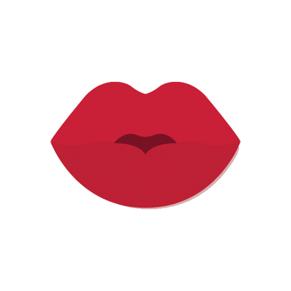 Beautiful Lips - Kiss me messages sticker-4
