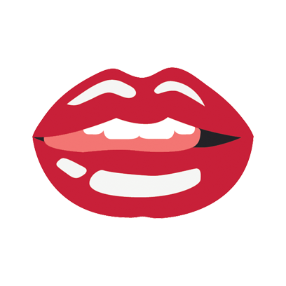 Beautiful Lips - Kiss me messages sticker-11