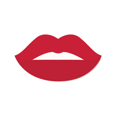 Beautiful Lips - Kiss me messages sticker-1