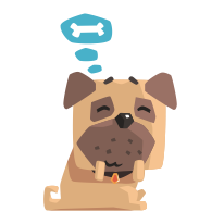 Dog Translator Simulator Free messages sticker-5