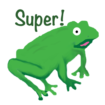 Frogs Alive Stickers messages sticker-0