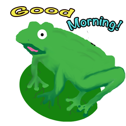 Frogs Alive Stickers messages sticker-6
