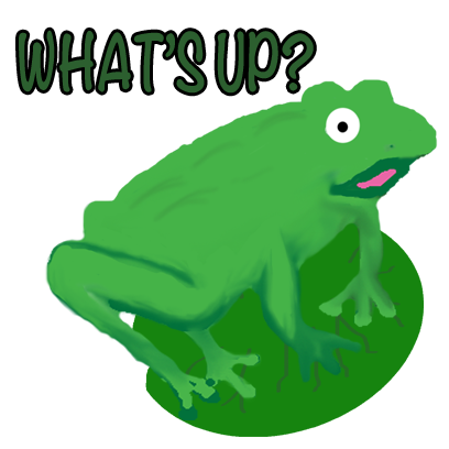 Frogs Alive Stickers messages sticker-2