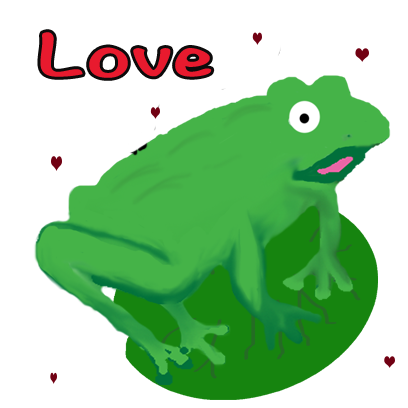 Frogs Alive Stickers messages sticker-5