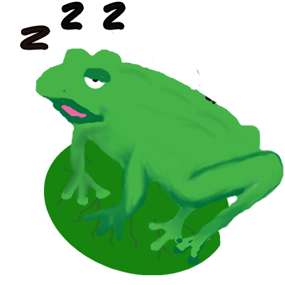 Frogs Alive Stickers messages sticker-7