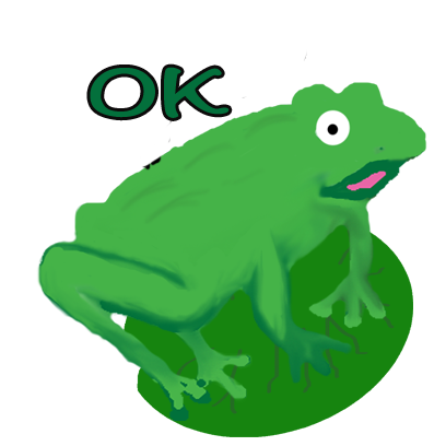 Frogs Alive Stickers messages sticker-4