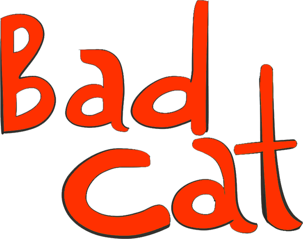 BAD CAT EMOJIS messages sticker-0