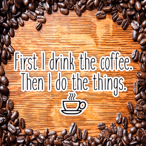 Coffee First Stickers messages sticker-10