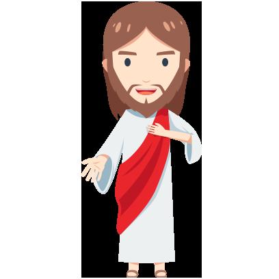 Pocket Jesus Sticker and Emojis messages sticker-9