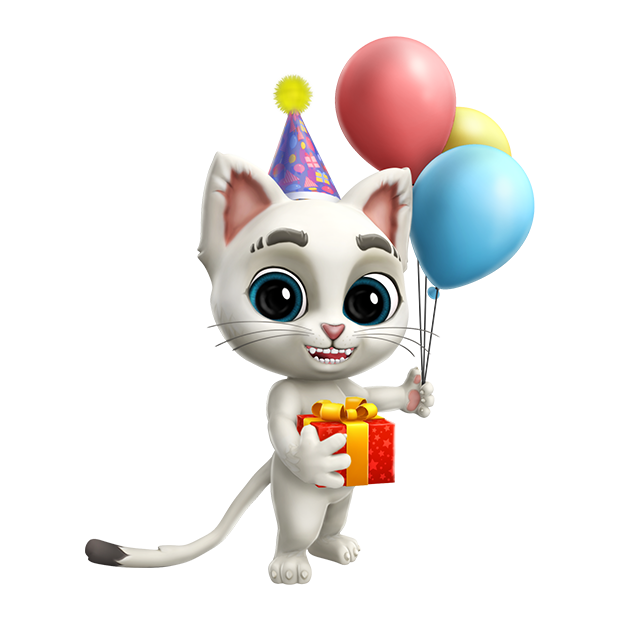 Oscar the Cat - Virtual Pet messages sticker-11