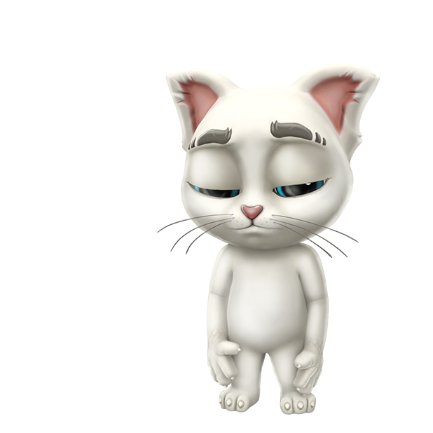 Oscar the Cat - Virtual Pet messages sticker-1