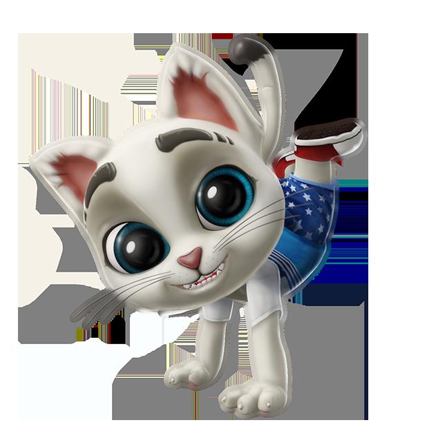 Oscar the Cat - Virtual Pet messages sticker-9
