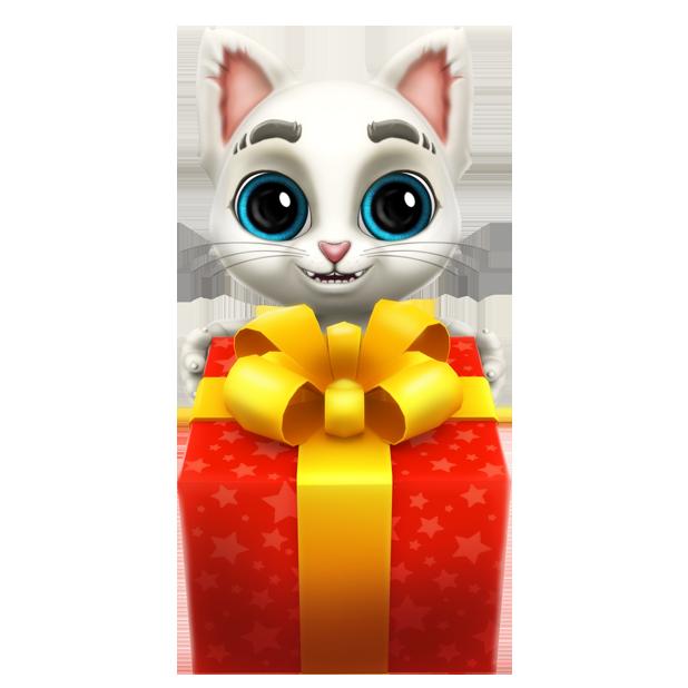 Oscar the Cat - Virtual Pet messages sticker-7