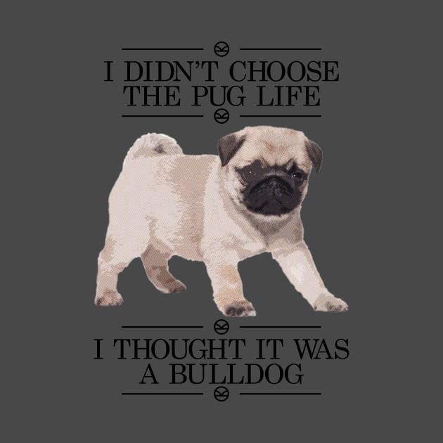 Thug Life & Pug Life Stickers messages sticker-7