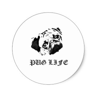Thug Life & Pug Life Stickers messages sticker-9