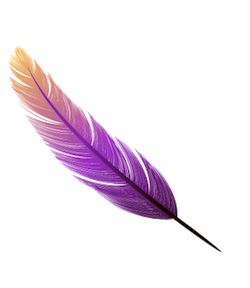 FeatherMojis - Feather Emojis And Stickers messages sticker-9