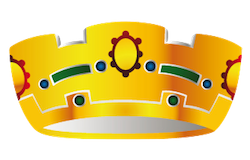 Crown Stickers messages sticker-7