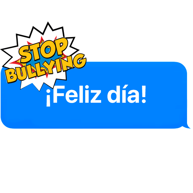 Rompe Bullying por TokApp School messages sticker-2