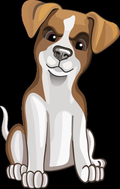 Джек Рассел - милая собачка messages sticker-1