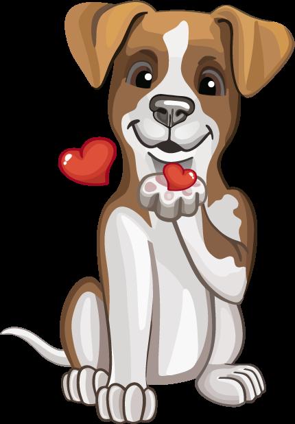 Джек Рассел - милая собачка messages sticker-5