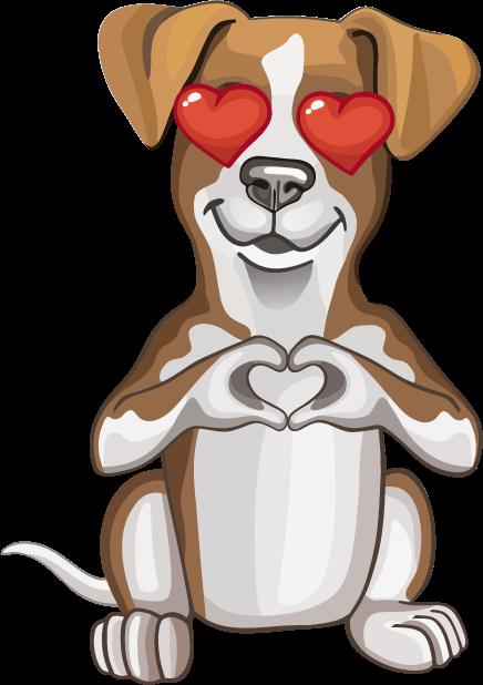 Джек Рассел - милая собачка messages sticker-7