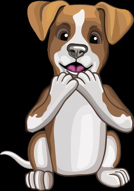 Джек Рассел - милая собачка messages sticker-4