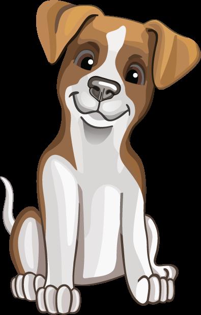 Джек Рассел - милая собачка messages sticker-0