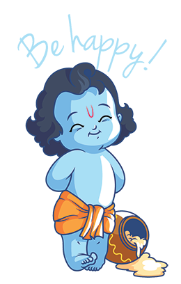 Krishna Stickers messages sticker-4