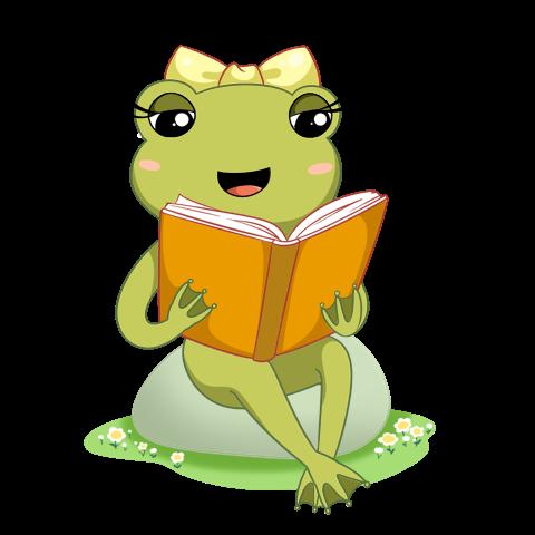 青蛙舞者貼圖 messages sticker-10