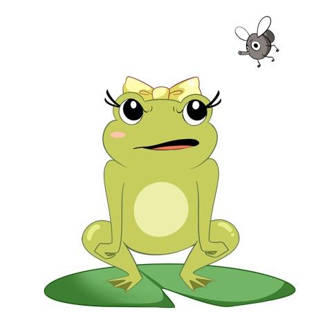 青蛙舞者貼圖 messages sticker-8