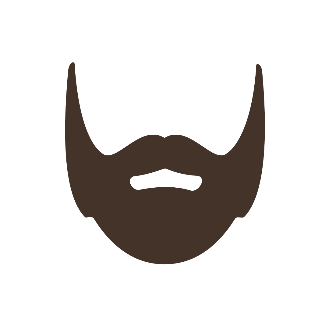 Mustaches and Beards messages sticker-1