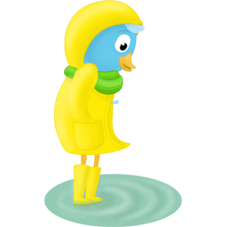 Cute Duck Stickers HD messages sticker-2