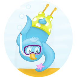 Cute Duck Stickers HD messages sticker-1