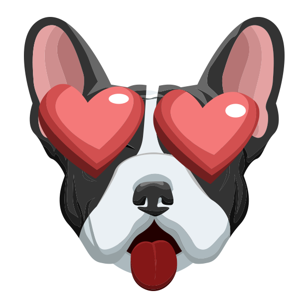 FrenchieMoji - French Bulldog messages sticker-2