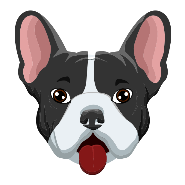 FrenchieMoji - French Bulldog messages sticker-1
