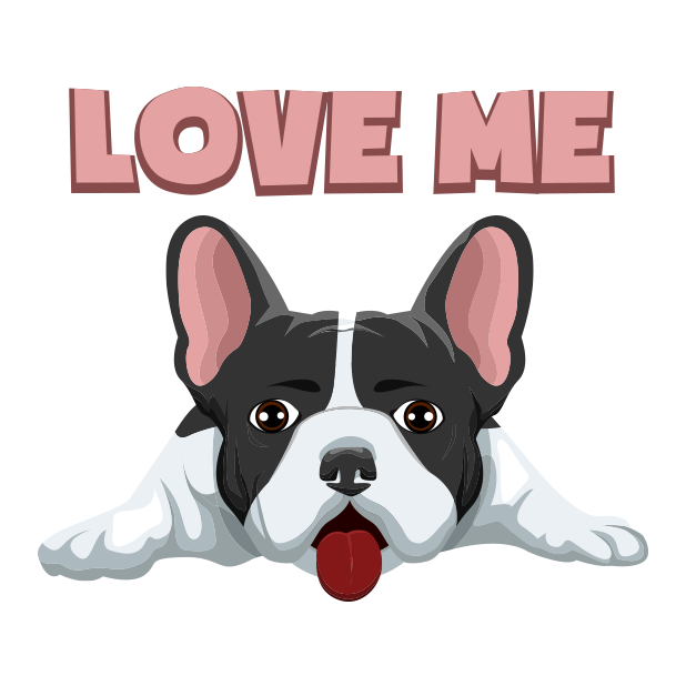 FrenchieMoji - French Bulldog messages sticker-11