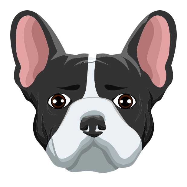 FrenchieMoji - French Bulldog messages sticker-0