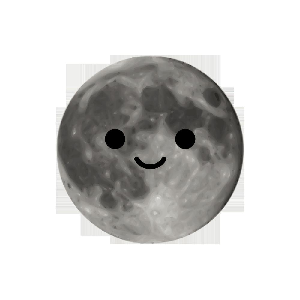 MOONEMOJI - Full Moon Emojis messages sticker-2