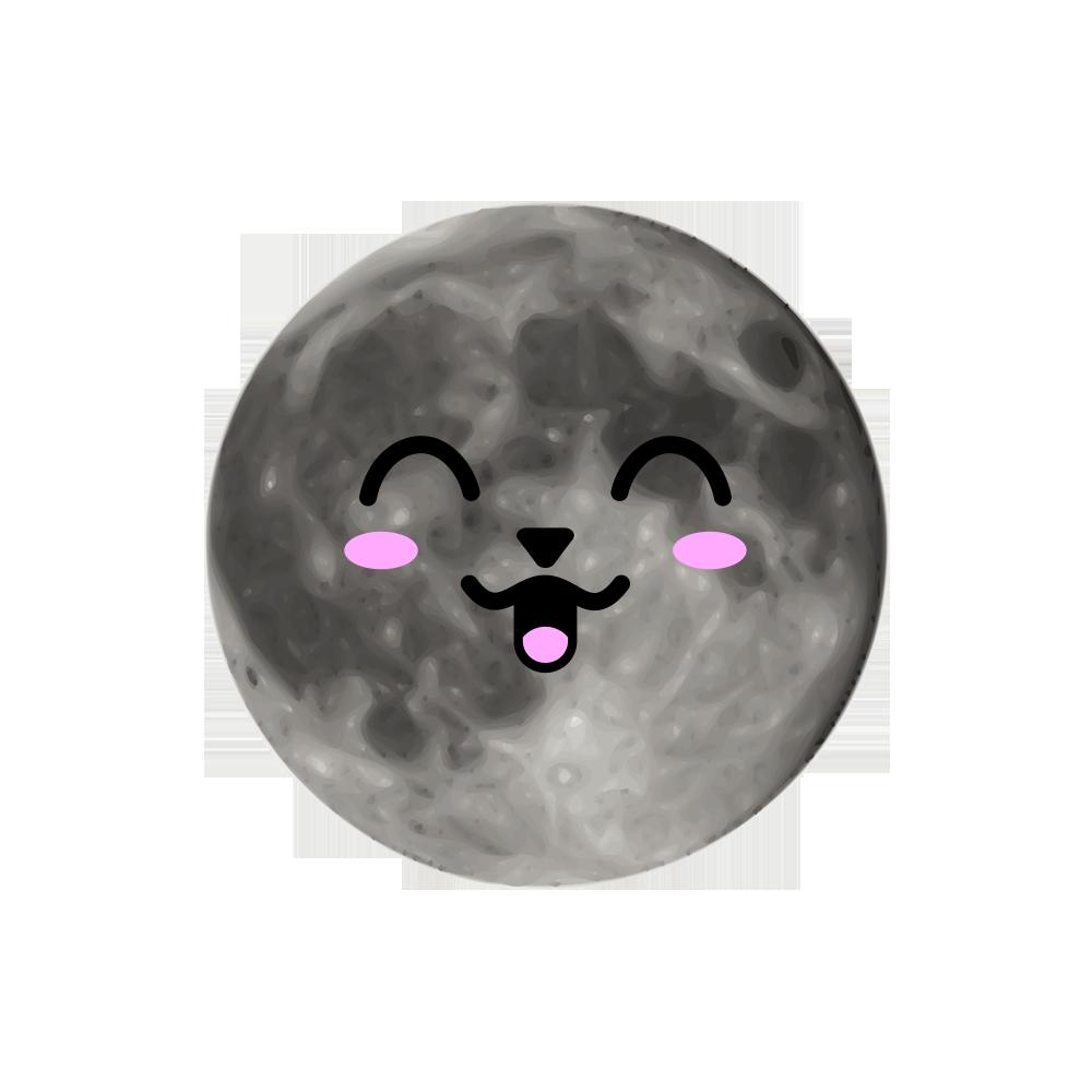MOONEMOJI - Full Moon Emojis messages sticker-8
