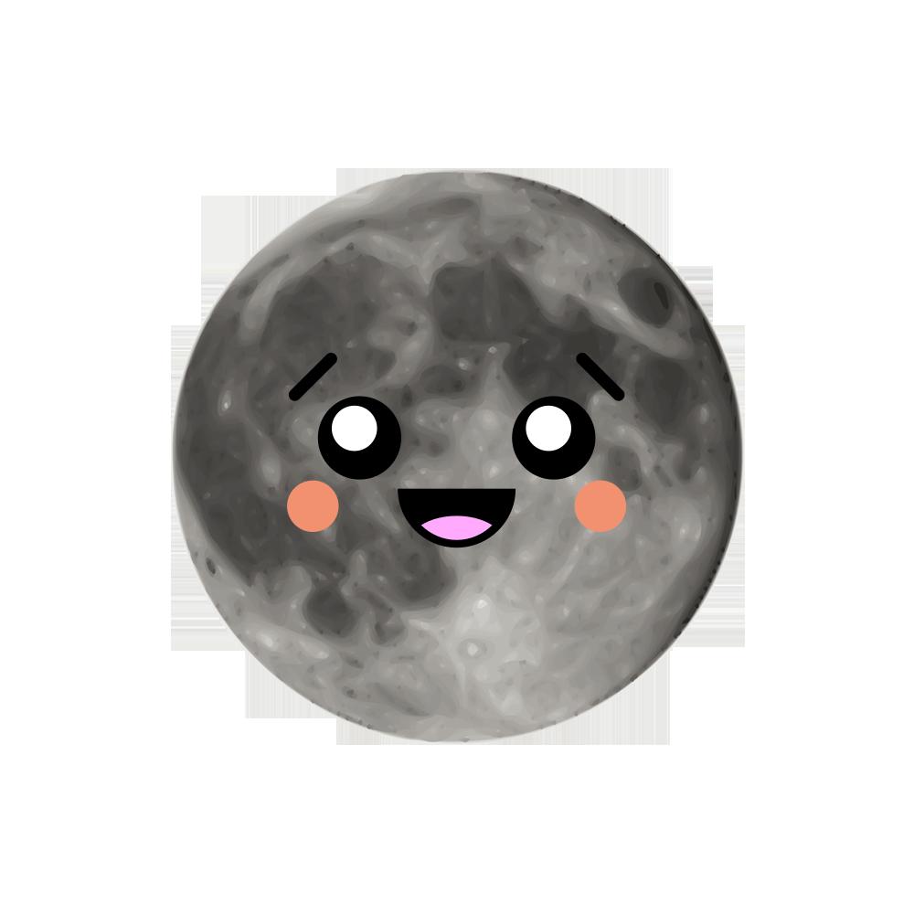 MOONEMOJI - Full Moon Emojis messages sticker-9